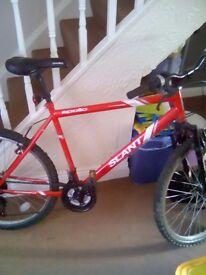 Apollo slant mountain bike (men's) for sale