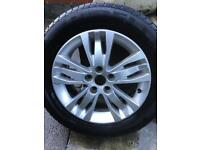 1 x Ford smax alloy wheel