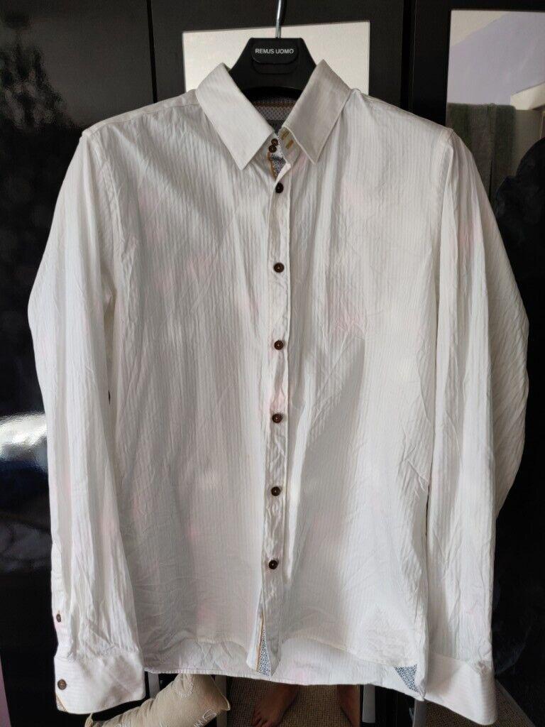 65b8dd2e2 Men s White Ted Baker Formal Shirt