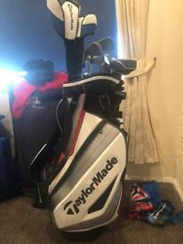 Taylormade clubs with bag perfect condition