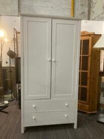 White wardrobe with drawer