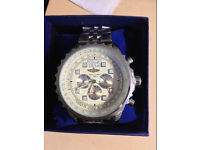 Breitling Bentley Automatic, Chronograph Watch, Boxed