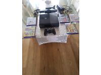 Xbox 360 slimline with kinect and games boxed!!