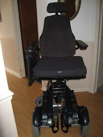 Etac Balder F280 Powered Wheelchair with vehicle anchor plate