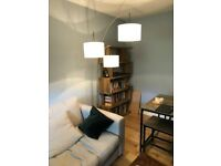3 ARM ARCHED FLOOR LAMP (MINT CONDITION)