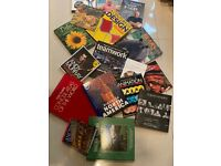 Large Expensive Coffee Table Books x25 Plus Various Subjects Library