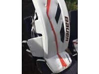 FULL ICE HOCKEY NET MINDER YOUTH KIT FOR SALE