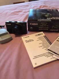 Canon power shot SX610HS