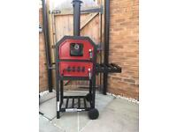 BBQ Charcoal Oven Smoker New already built