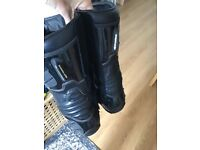 Motorcycle boots, motorbike, Alpine star, waterproof