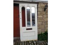 Vintgage solid wood door