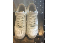 Nike Air Force 1 Trainers X2 pair, Size 8