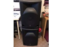 QTX 250 Watt Active Speakers