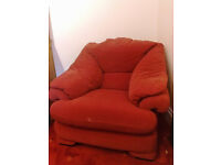 Single Armchair for Sale, very good condition, very comfy.....£5.00