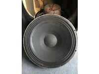 JBL 15 inch BASS speakers x 2. D140 and K130