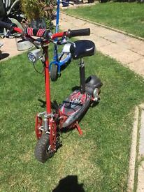 Adult electric scooter