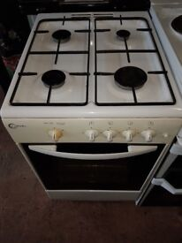 Gas Cooker, Electric Grill, Oven Cooker, White Colour