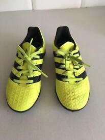 Boys Adidas football trainers size 12