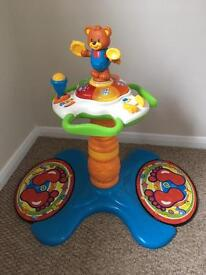 V tech 3in1 sit to stand musical toy