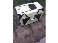 Large dog cage very good condition