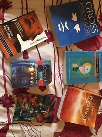 Psychology textbooks