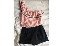 Dress / top with bottoms attached