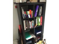 IKEA bookshelf black brown like new