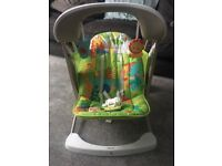 Fisher Price Rainforest electronic swing