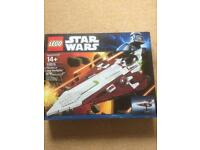 10215 LEGO STAR WARS OBI WANS STAR FIGHTER COLLECTORS EDITION 10215