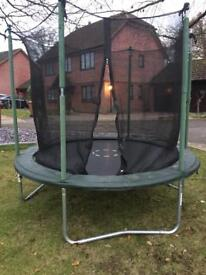 8ft Trampoline. Great condition.