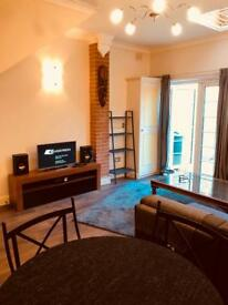 No agents. Large garden apartment fully furnished camden Euston