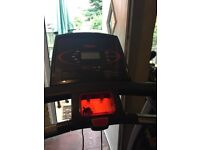 York treadmill , black and red , good condition must collect