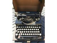 Vintage Royal Travel Typewriter