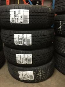 195/65/15 Firestone Affinity Allseason tires