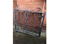 WROUGHT IRON GATES 4' X 4'......Very good condition