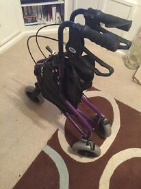 Excellent condition as new. Folds up adjustable handles. Cost £80 new