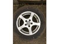 "VW Golf wheels x 4 15"""
