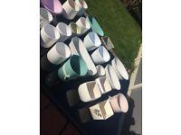 Job lot of plant pots