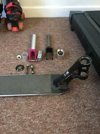 Scooter Deck and extras