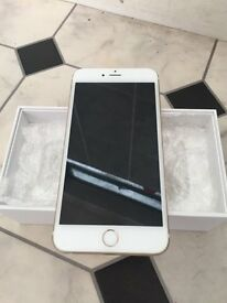 apple iphone 6+ plus white gold o2 02 giff gaff tesco ee orange 3 vodafone unlocked open
