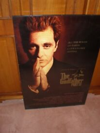 Al Pacino The Godfather Part III Mounted Framed Poster A Cinema Classic