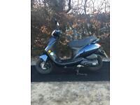 74 MILES FROM NEW 2014 Sinnis 50 moped - 12 MONTHS MOT
