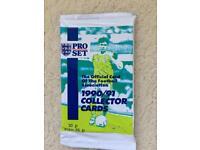 Pro Set Unopened Pack 1990/91