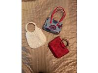 Selection of hand bags