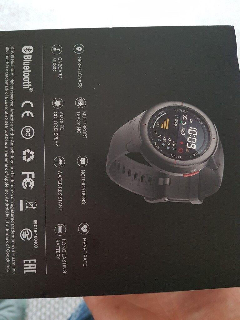 21fcda97b Amazfit Verge fitness tracker  smart watch. Wakefield ...