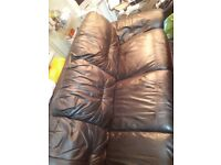 Leather sofa in good condition
