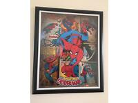 Spider Man Picture and Frame