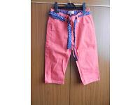 M&S Indigo 3/4 Girl's Shorts - Red