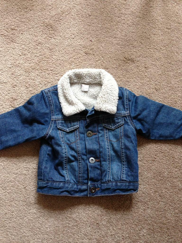 Baby boy 6-9 months Denim Jacket