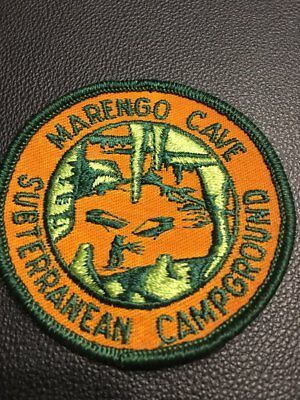 Marengo Cave Subterranean Campground   Embroidered Patch